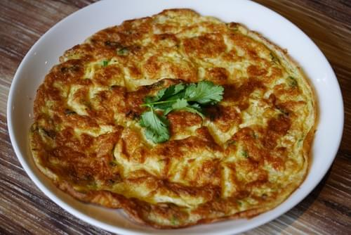 Minced Pork Omelette