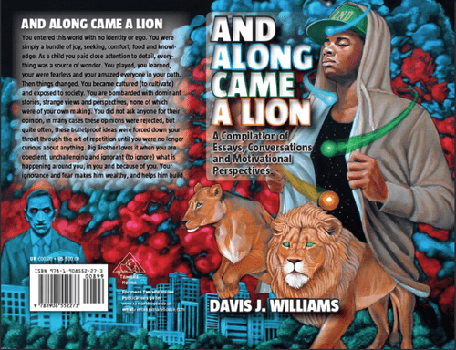 And Along Came A Lion (Published by Love is Just a Verb Publishers)
