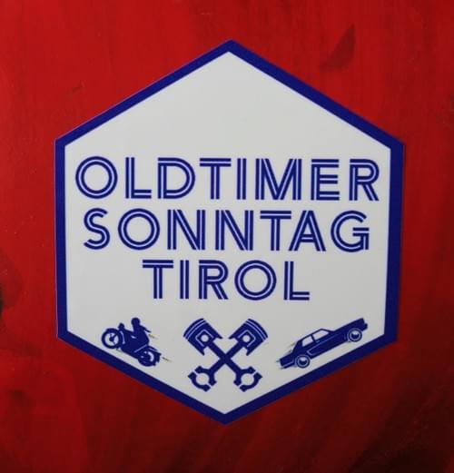 HQ Aufkleber - OLDTIMER SONNTAG TIROL