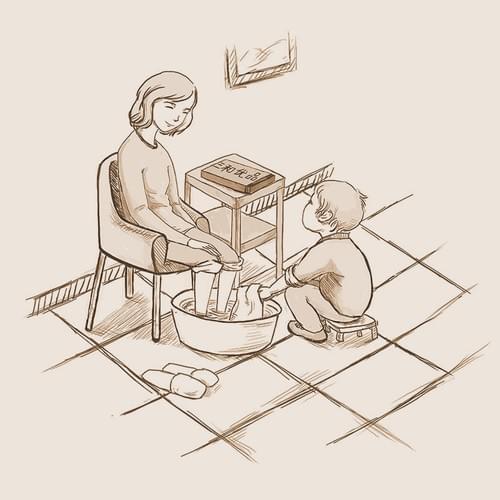 暖心足浴包(礼盒装)| 30g * 20包