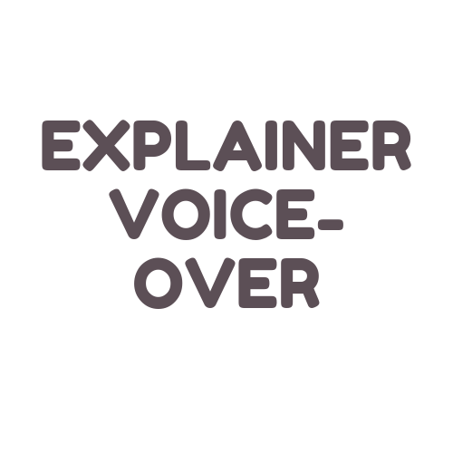 Get a voice-over for your explainer or corporate training video intended for commercial release