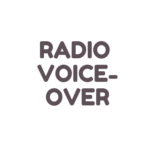 Get a voice-over for your project intended for broadcasting via radio, internet, or television