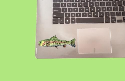 Trout Sticker