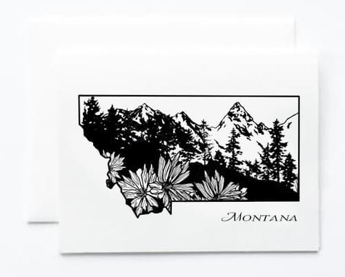 Montana Notecard
