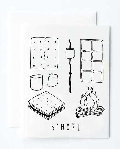 S'more Notecard