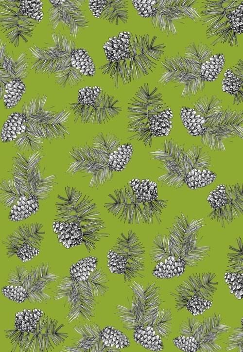 Pine Cone Gift Wrap Sheets