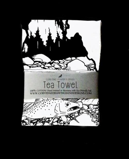 Idaho Tea Towel