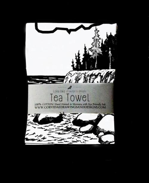 Oregon Tea Towel