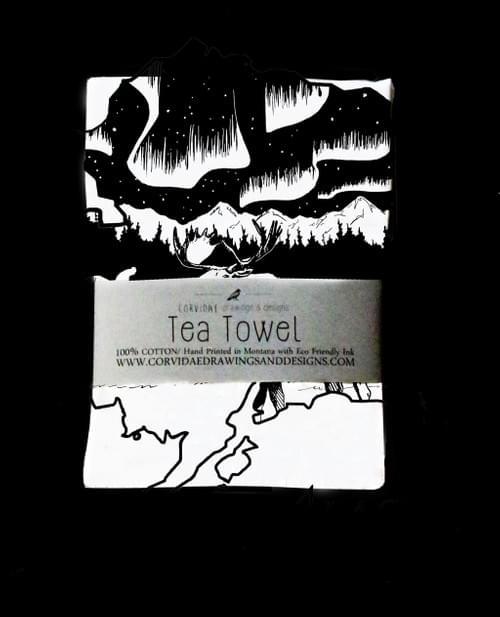 Alaska Tea Towel