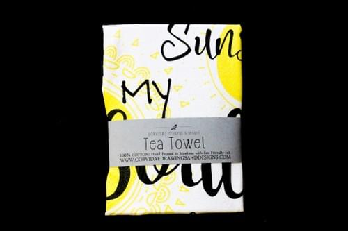 Sunshine in my Soul Tea Towel