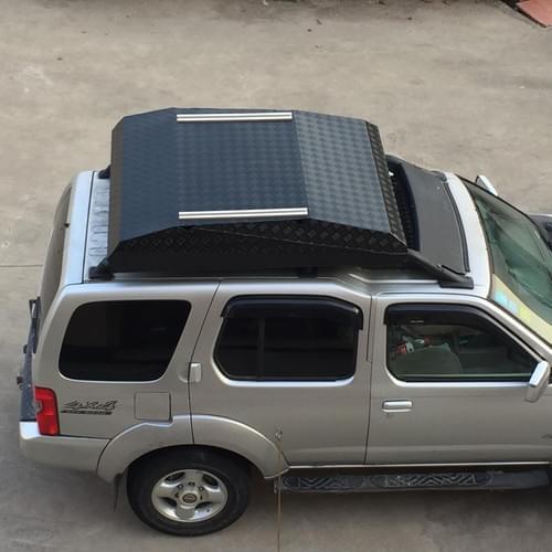 Bagage dragers voor op het dak van Alu-Khosi
