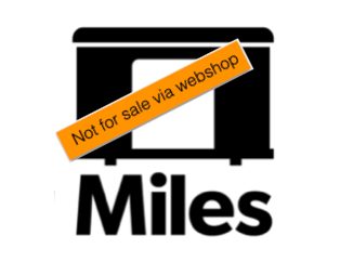 MILES, not for sale via webshop