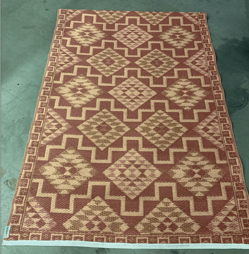 Vloerkleed, terra cotta 120x180 cm