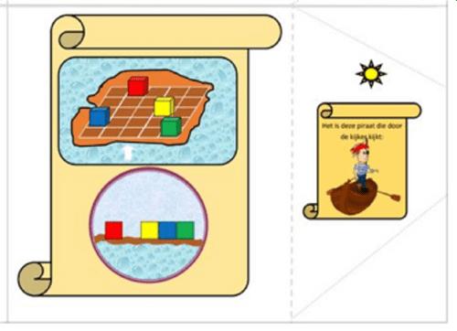 Beginnersreeks aanzichten leren herkennen: spelbord en 36 opdrachtkaarten 1