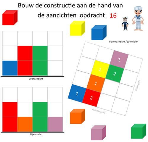 Level 1 en 2 Piratenkaarten (WDmk1) 1-20