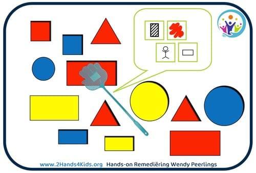 2Hands4Kids Set 2 Logikaarten met opdrachten 'kenmerken' (20 kaarten)