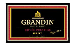 French Sparkling Grandin Cuvee Prestige Blanc de Blancs