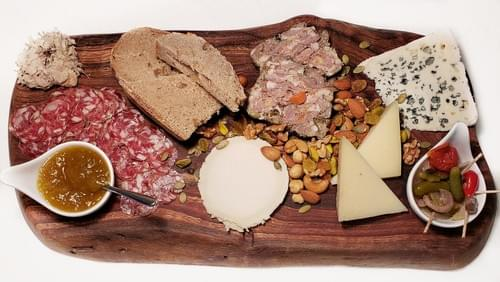 Ménage à Trois Cheese & Charcuterie