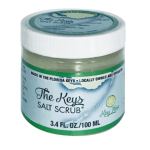 Keys Salt Scrub - 3 Pack 3.5oz Travel Size