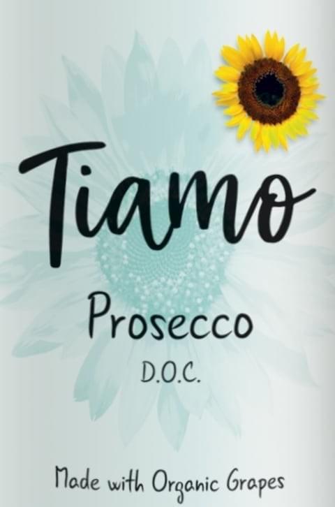 Prosecco Sparkling - Tiamo - Organic - NV