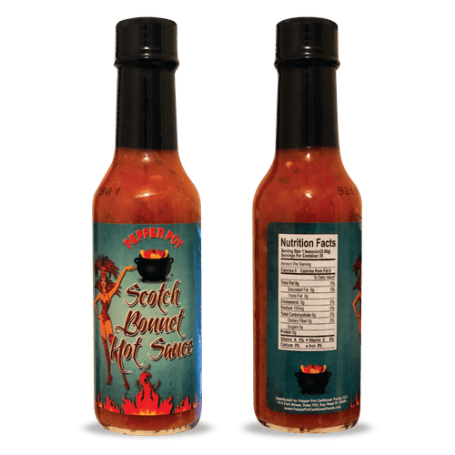 Scotch Bonnet Hot Sauce - 13oz