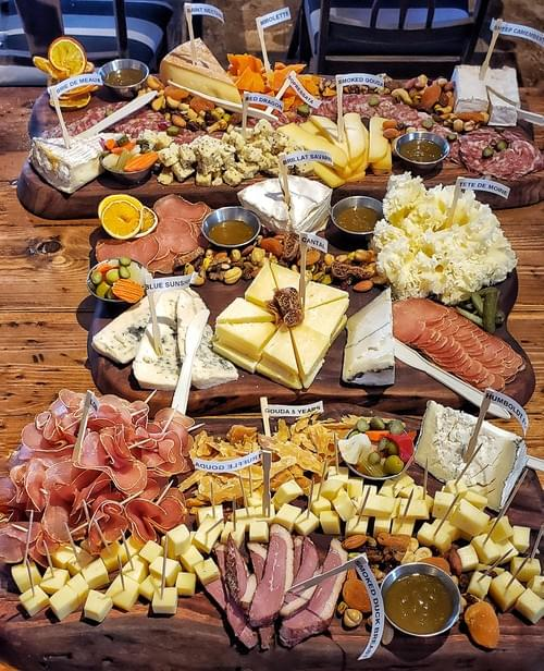 Custom - Cheese & Charcuterie Plate