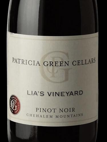 Patricia Green Cellars - Lia's Vineyard - 2015