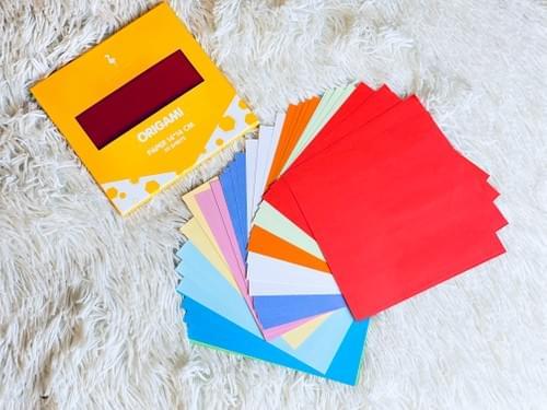 Origami paper 14*14 cm (10 colors)