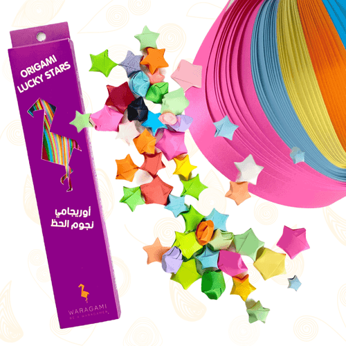 WARAGAMI Origami Lucky Stars Paper