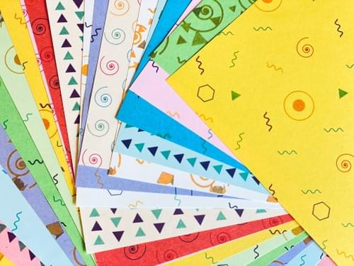 Origami Pattern paper 12*12 cm