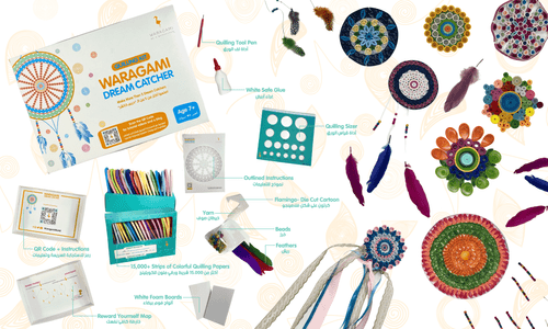Dream Catcher Quilling Kit by WARAGAMI