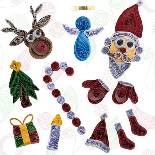 WARAGAMI Quilling Christmas Kit
