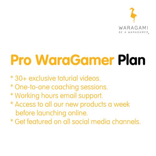 Pro WaraGamer Membership Plan