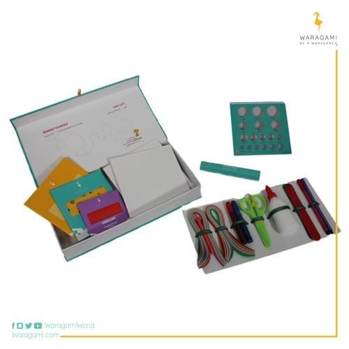 صندوق ورقامي ذو الطوابع المختلفة- وجوه الحيوانات- المستوى المبتدئ