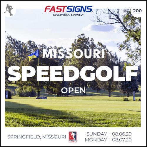 Missouri Speedgolf Open | Sun. & Mon. 09/06-07