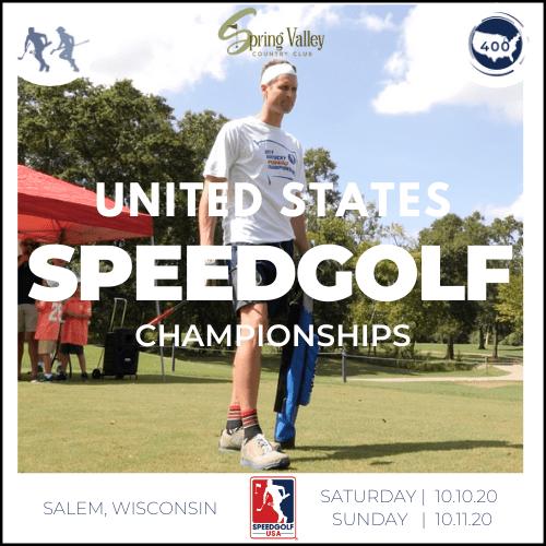 United States Speedgolf Championships | Sat. & Sun. 10/10-11