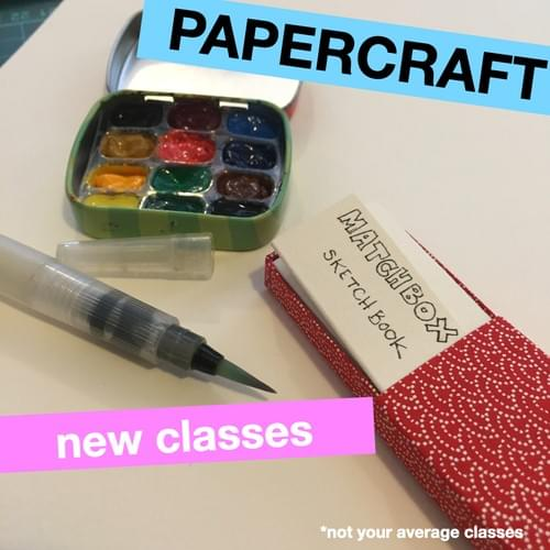 Papercraft - Evening classes
