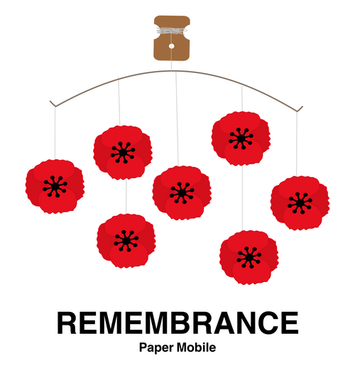 Remembrance Paper Mobile