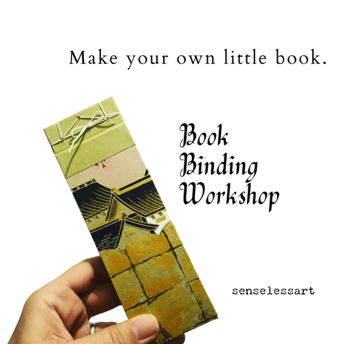 Bookbinding - Japanese Stab Binding Workshop
