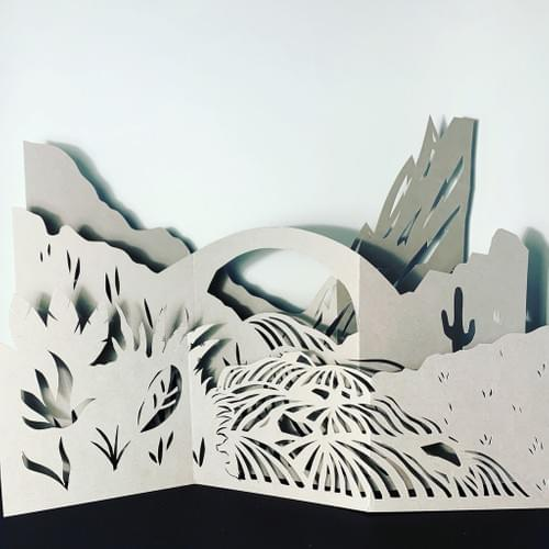 Paper Art Class - Friday  26 Feb 10am -12pm