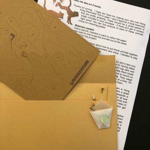 Mammals - Project 3 -  HK Mail Art Club
