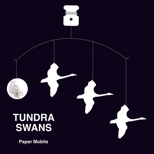 Tundra Swans Paper Mobile