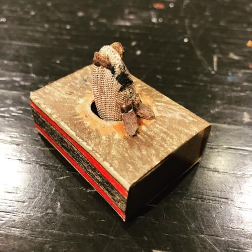 Personalised Matchbox Art Piece