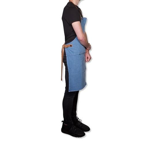 Tablier Dutchdeluxes BBQ STYLE - DENIM -WASHED INDIGO