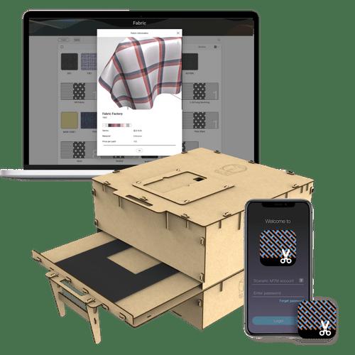 Materials Digitizer - For independent designers