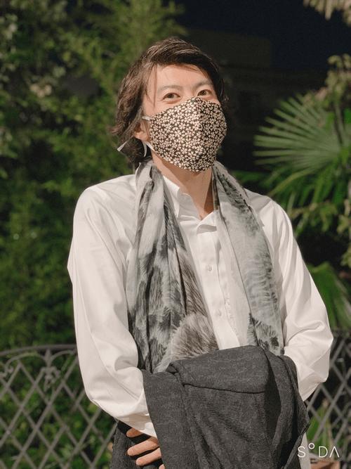 金襴ドレスアップマスク