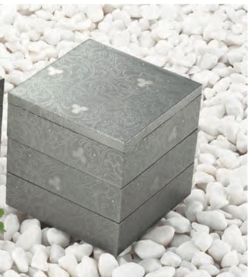 重箱  銀
