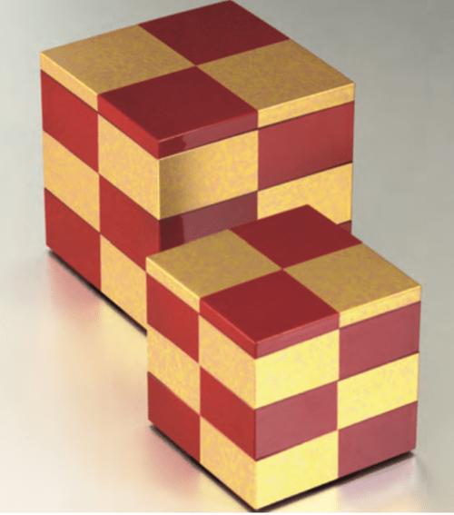 重箱  赤金