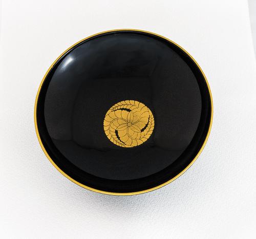 藤巴 (黒田如水)平型盃