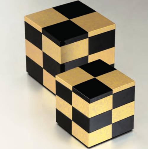 重箱  黒金